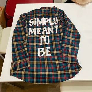 Cakeworthy Sally Simply Meant to Be Flannel